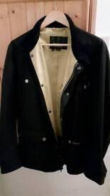 Mens XL black wax International Jacket