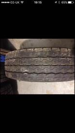 215/75/16 Firestone Tyre 6mm Part worn Land Rover Jeep Fiat Ford Transit