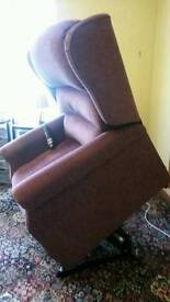 Adjustmatic electric chair suitable for over 25stone