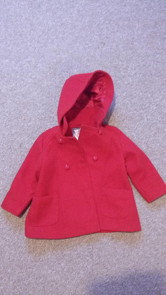 Girls coat size 2-3 years