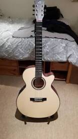 Dowina Rustica Acoustic guitar with case