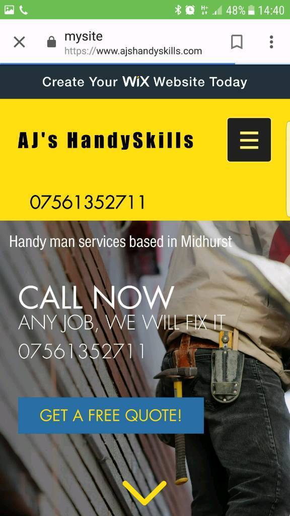 Local insured handyman