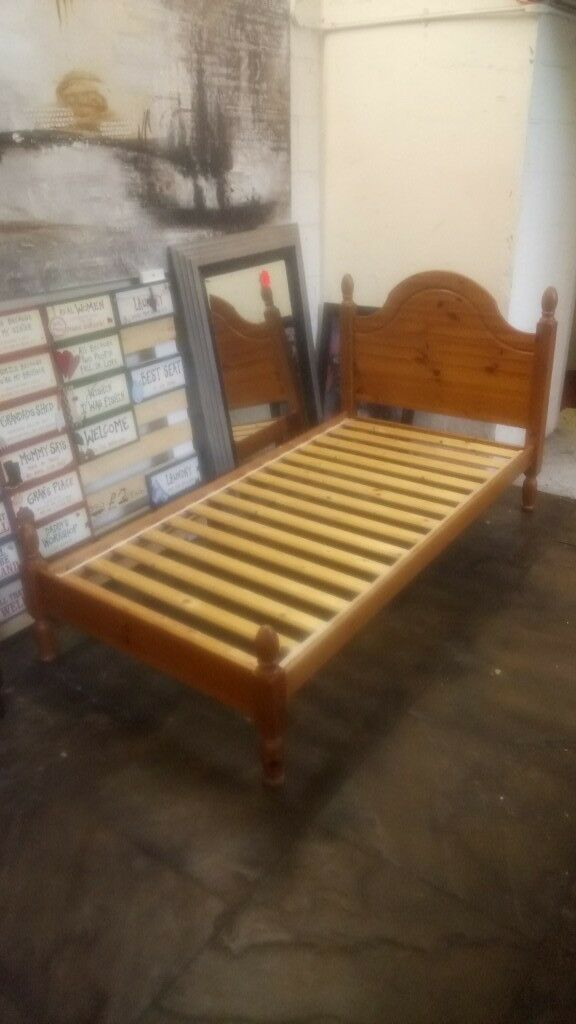 Single Pine Bed Frame Copley Mill 2nd Hand Furniture Stalybridge