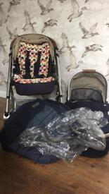 Mamas and Papas Urbo 2 buggy travel system