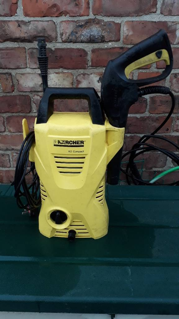 Karcher k2 compact pressure washer complete with lance