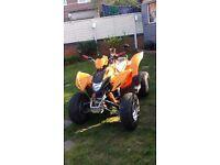 Aeon Cobra 220 automatic quad bike