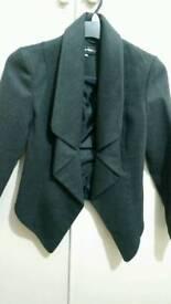 Short warm coat