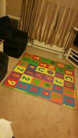 KIDDIES, CHILDREN'S PLAY MAT FOAM TILES.