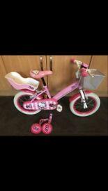 14 inch Hello kitty bike