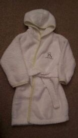 Mothercare baby dressing gown and disney Little Roo Hooded Bath towel