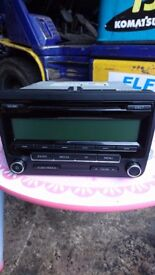 VW TRANSPORTER T5 RCD310 VW5M0035186AA HEAD UNIT