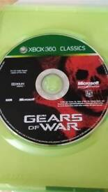 Xbox 360 gears of war, pes 2015 and nba2k14