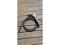 Karcher pressure washer hose and lance