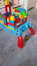 Mega blocks table+blocks