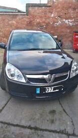 Vauxhall Vectra 1.8 life Petrol 2007 Black 5 speed