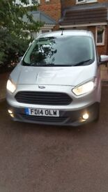 LOW LOW MILES. 28k.Fully loaded.ford courier van