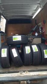 195 55 16 BRAND NEW TYRES FREE DELIVERY FITTING & BALANCING SAME DAY!!
