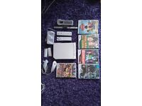 Wii console games and controllers