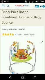 New in box Fisher Price Jumperoo