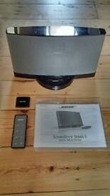 Bose Sound dock series II with blue tooth adaptor