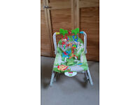 Fisher Price Rainforest Infant-to-toddler Rocker for sale