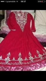 Anarkali wedding dresss