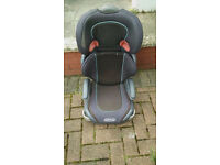 Graco booster high back car seat approx age 3 -6