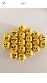 Lego Heads x20 NEW