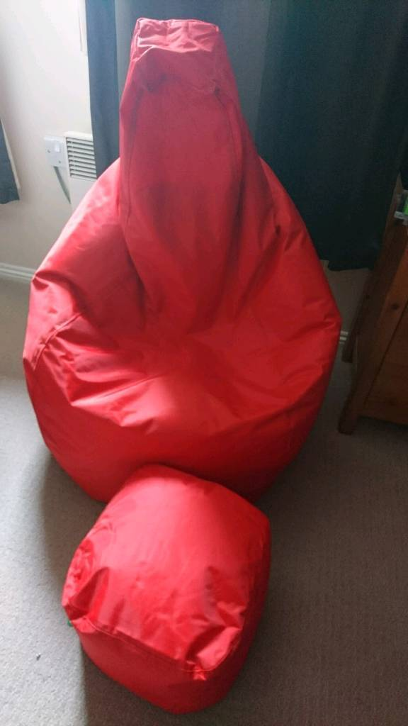 Bean Bag Chair Footstool