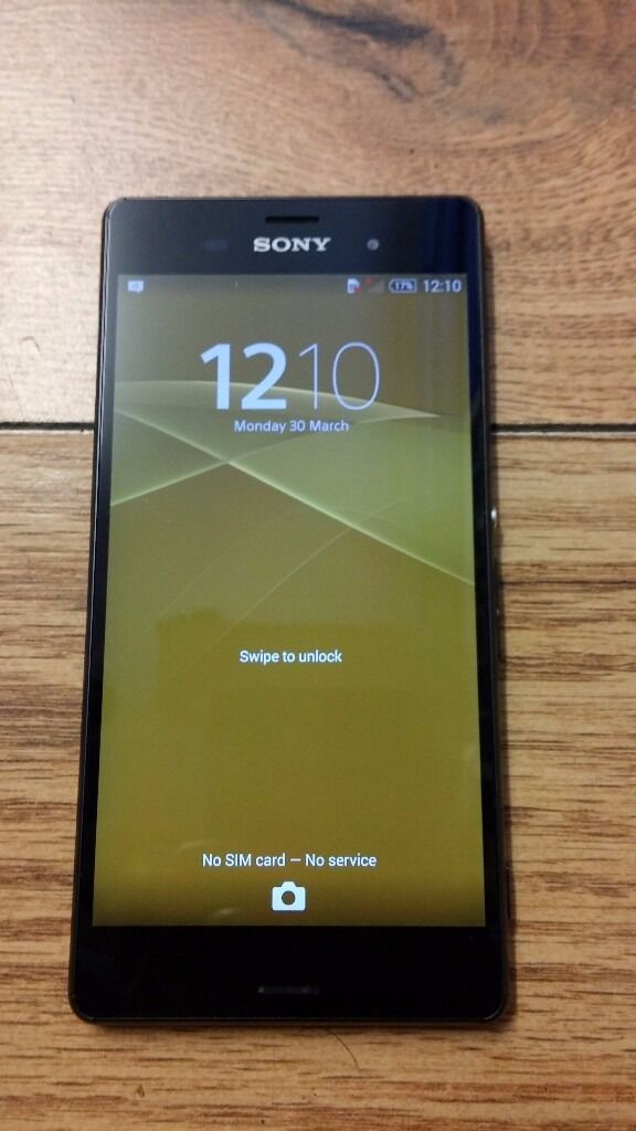 SONY XPERIA Z3 16GB - UNLOCKED TO ALL NETWORKS - £120