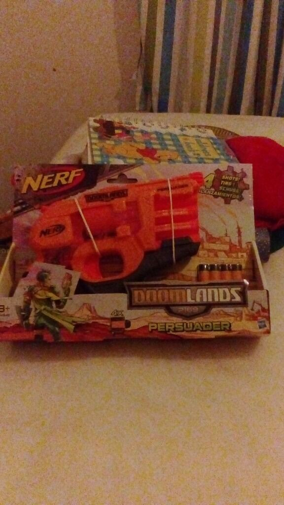 Nerf gun new and sealed
