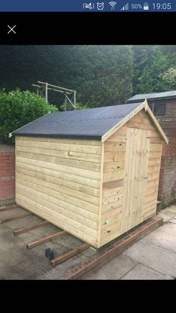 8x6 tanalised timber garden sheds at cheap prices - Garden Sheds Gumtree