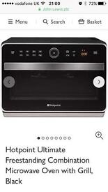 Hot point Combi microwave