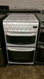 Cannon 50cm gas cooker white