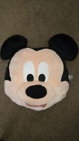 Mickey Mouse Big Face Cushion - excellent condition