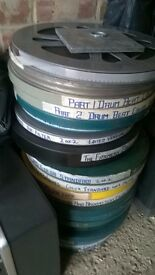 Cine film 16 mm housrboat
