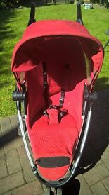 Quinny Zapp Xtra Pushchair Red
