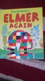 Elmer again book