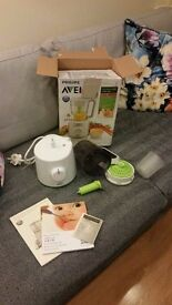 PHILIPS AVENT 2 in 1 Healthy baby food maker - BRAND NEW £50 - in stores £110