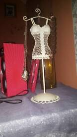 Earring and necklace stand