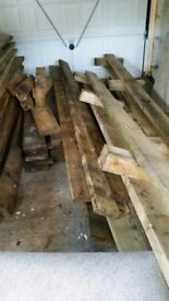 Supply of timber, approx 20 sq m