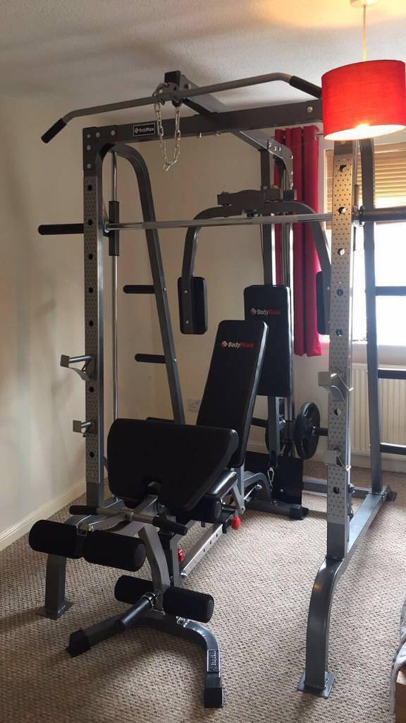 Bodymax cf380 home gym smith machine in edinburgh gumtree