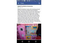 Kidkraft Toy Kitchen & Accessories.