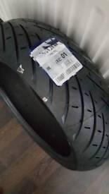Metzeler roadtec 01 rear tyre 180 55 17