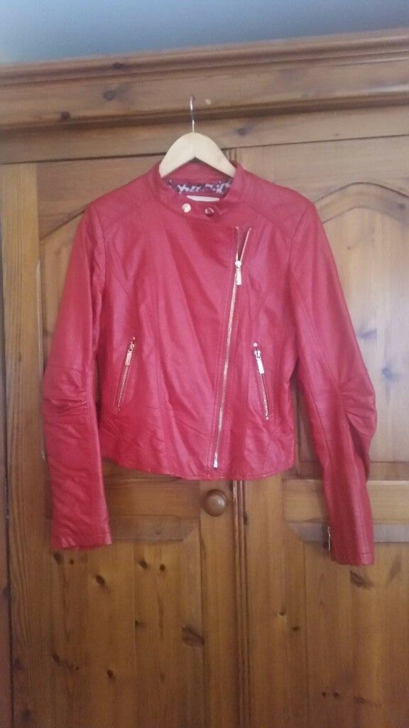 Smart Leather jacket Size L
