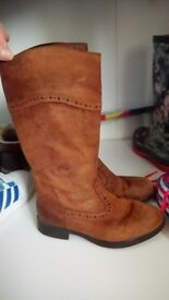Girls Clarks boots Size 12G