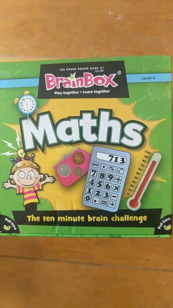 Maths Brain box   in Poole, Dorset   Gumtree
