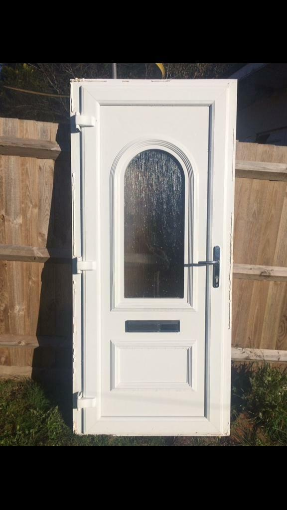 UPVC Front Back Door With Frame *Excellent Condition* | in High ...