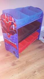 Spiderman Toy storage