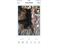 Knee highs perfect condition size 7